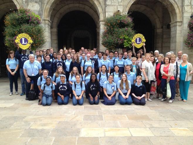 Le groupe Blue Lake reçu à la mairie de Cahors